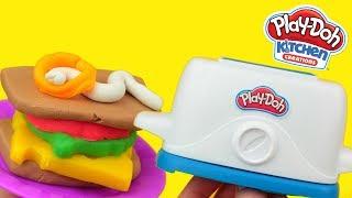Play Doh • Wesoły toster • kreatywne zabawy