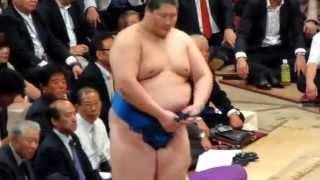 平成26年10月4日(土)、琴欧洲引退断髪披露大相撲に行ってきました! 逸...