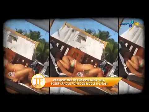 Viviane Araújo Posta Vídeo à La Gretchen - TV Fama 18/09/2014