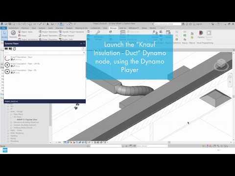 BIM Integration - Dynamo Nodes (Knauf Insulation Technical Solutions)