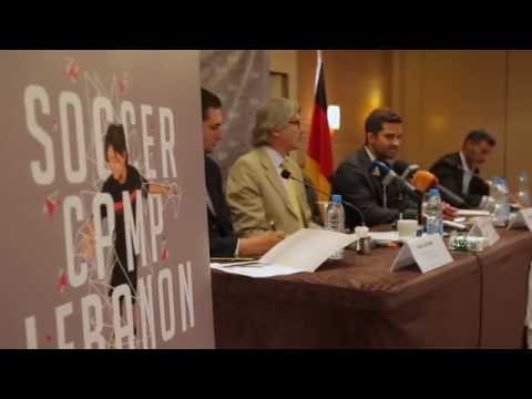 Soccer Camp Lebanon 2016 - press conference 12th August 2016
