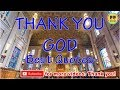 TOP 50 THANK YOU GOD QUOTES - Best Quotes About GOD