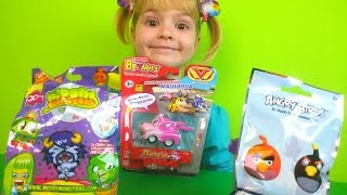 Angry birds Vrumiz car Moshi monsters new collection