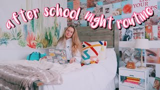 my after school night routine