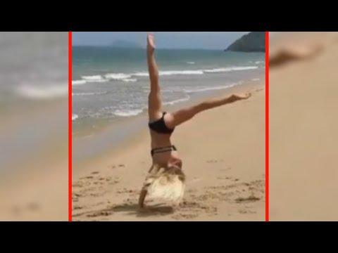 Girls am Beach! 😏💋 - SNAPCHAT TALENTS | JONAS