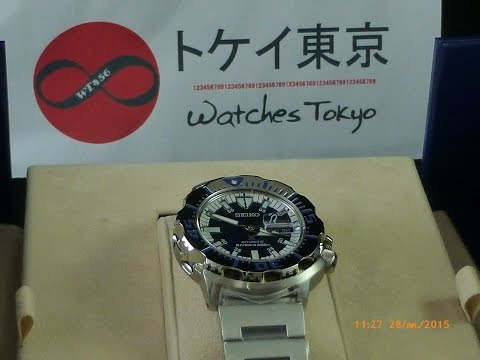 Seiko Monster SRP657 Royal Blue Limited Edition Review by WatchesTokyo