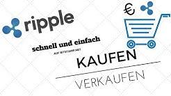 Schnell und Einfach Ripple XRP Kaufen und Verkaufen TUTORIAL Wallet erstellen und auf Ledger Nano S