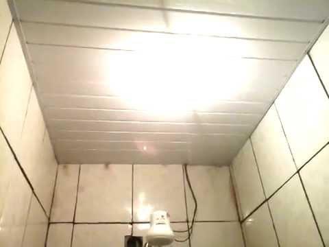 Faça Você Mesmo Pvc Em Teto De Banheiro