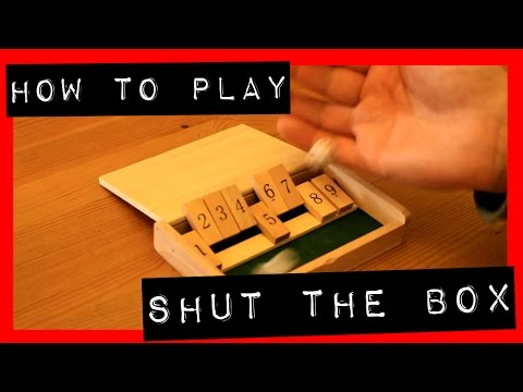 Shut The Box Traditional Pub Game | How To Play (Rules)
