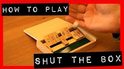 Shut the Box Traditional Pub Game | How to Play