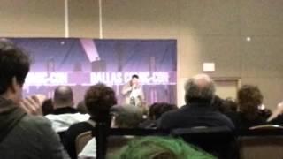 Karl Urban | Dallas Scifi Expo | Short Dredd intro