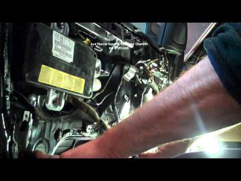 Bmw 3 Series Installing Driver Side Window Regulator And