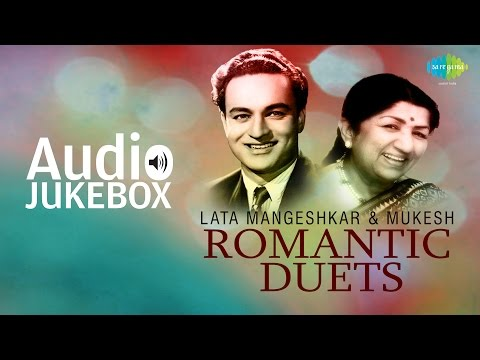 Best Of Lata Mangeshkar & Mukesh  Duets | Classic Romantic Songs | Audio Jukebox