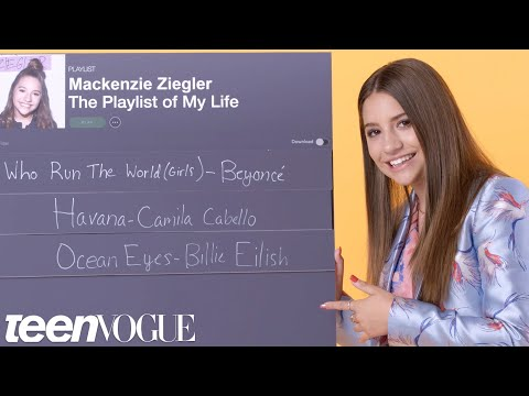 Mackenzie Ziegler Creates the Playlist of Her Life  Teen Vogue
