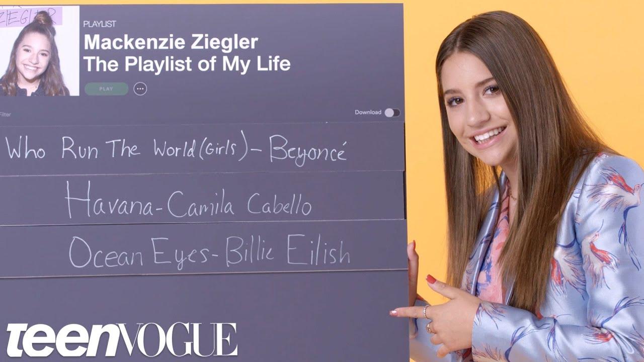 3e47c7925b1 Mackenzie Ziegler Creates the Playlist of Her Life