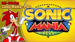 Sonic Mania Plus LIVE Stream (Saturday 21st July 2018 8pm BST) thumbnail