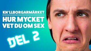 HUR MYCKET VET DU OM SEX DEL2 | DUMMA TEST