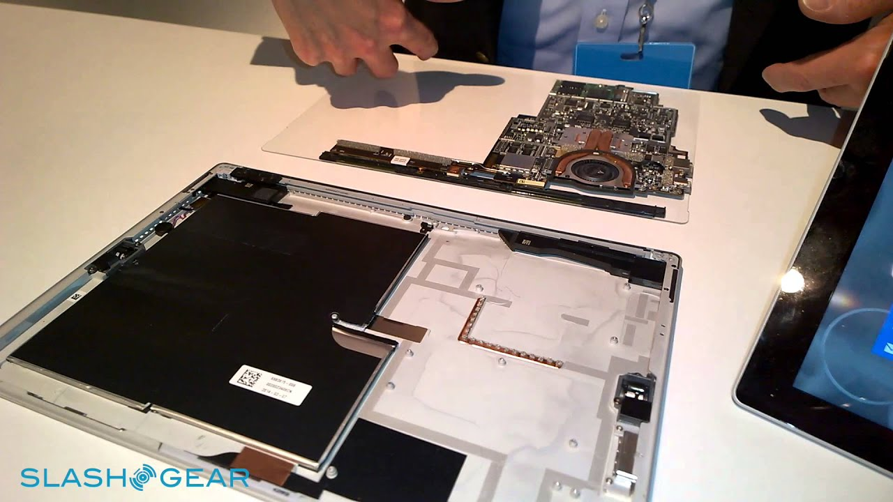 Microsoft Surface Pro 3 Cooling System Youtube