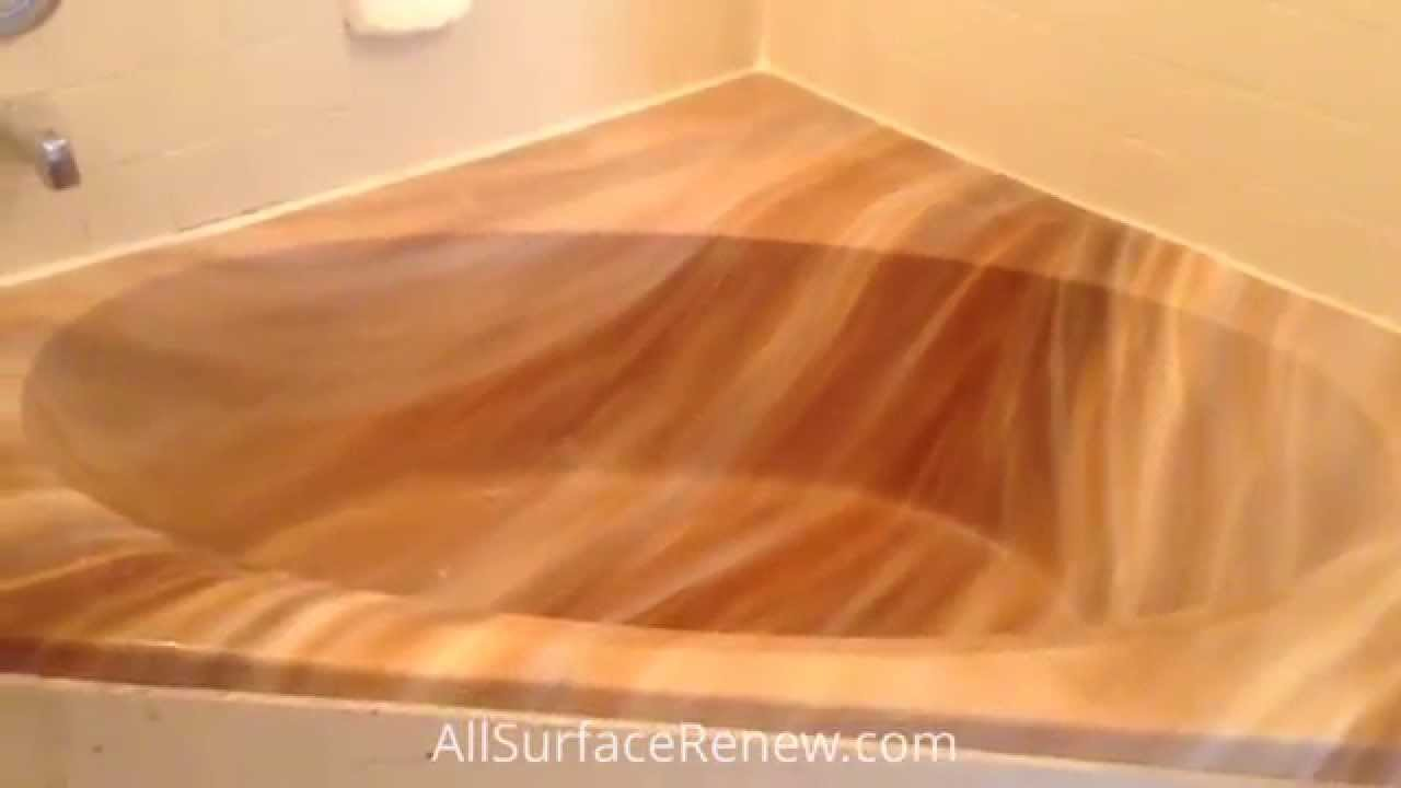 Painting Cultured Marble Sink Resurfacing A Cultured Marble Tub Austin Tx Youtube