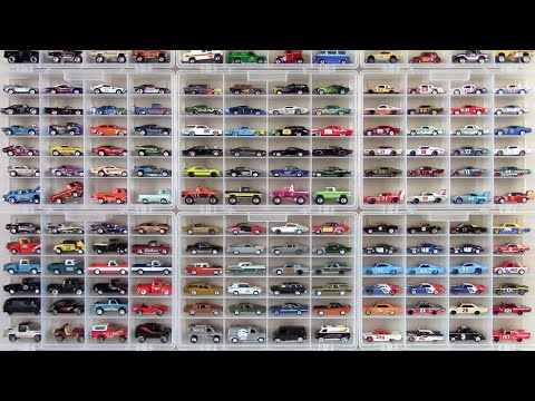 Hot Wheels Display Case Update - Summer 2014