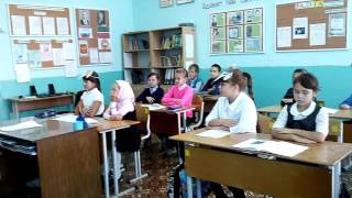 открытый урок татарской литературы 3 класс