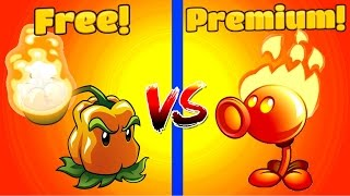 Plants vs Zombies 2 FIRE PEASHOOTER vs PEPPER PULT(New Series of Plants vs Zombies 2 comparing two kind of damage Free and premium plants: Fire Peashooter vs Pepper Pult Watch my newest PvZ 2 videos ..., 2016-12-22T11:00:05.000Z)