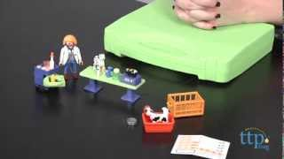 Vet Clinic Carrying Case From Playmobil