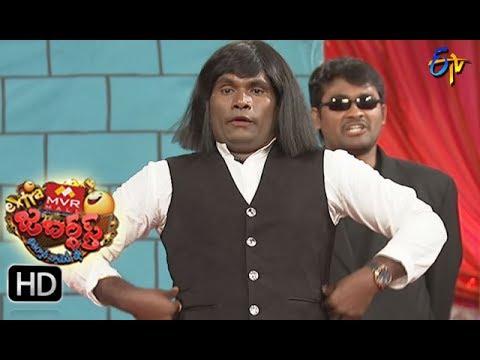 Chammak Chandra Performance | Extra Jabardsth | 28th July 2017| ETV  Telugu