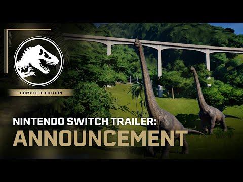 Jurassic World Evolution: Complete Edition   Nintendo Switch Announcement Trailer