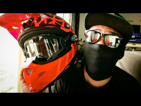 HELM BARU KYT Cross Helmet