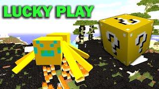 ч.19 Опасные битвы в Minecraft - Мега боссы Пауки