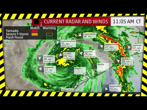 National Weather Service Alert: Harvey Life-Threatening, Catastrophic Damage