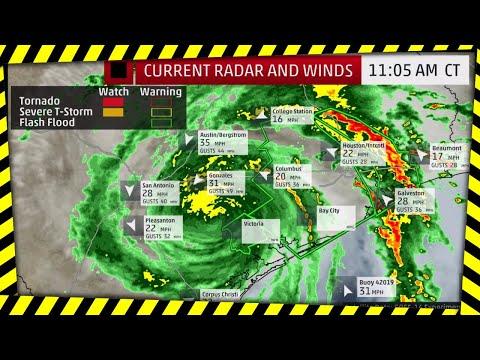 National Weather Service Alert: Harvey Life-Threatening, Catastrophic Damage