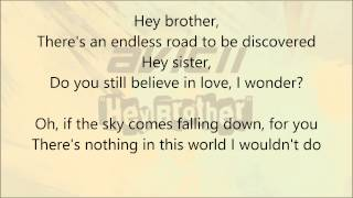 Avicii - Hey Brother (Lyric Video)