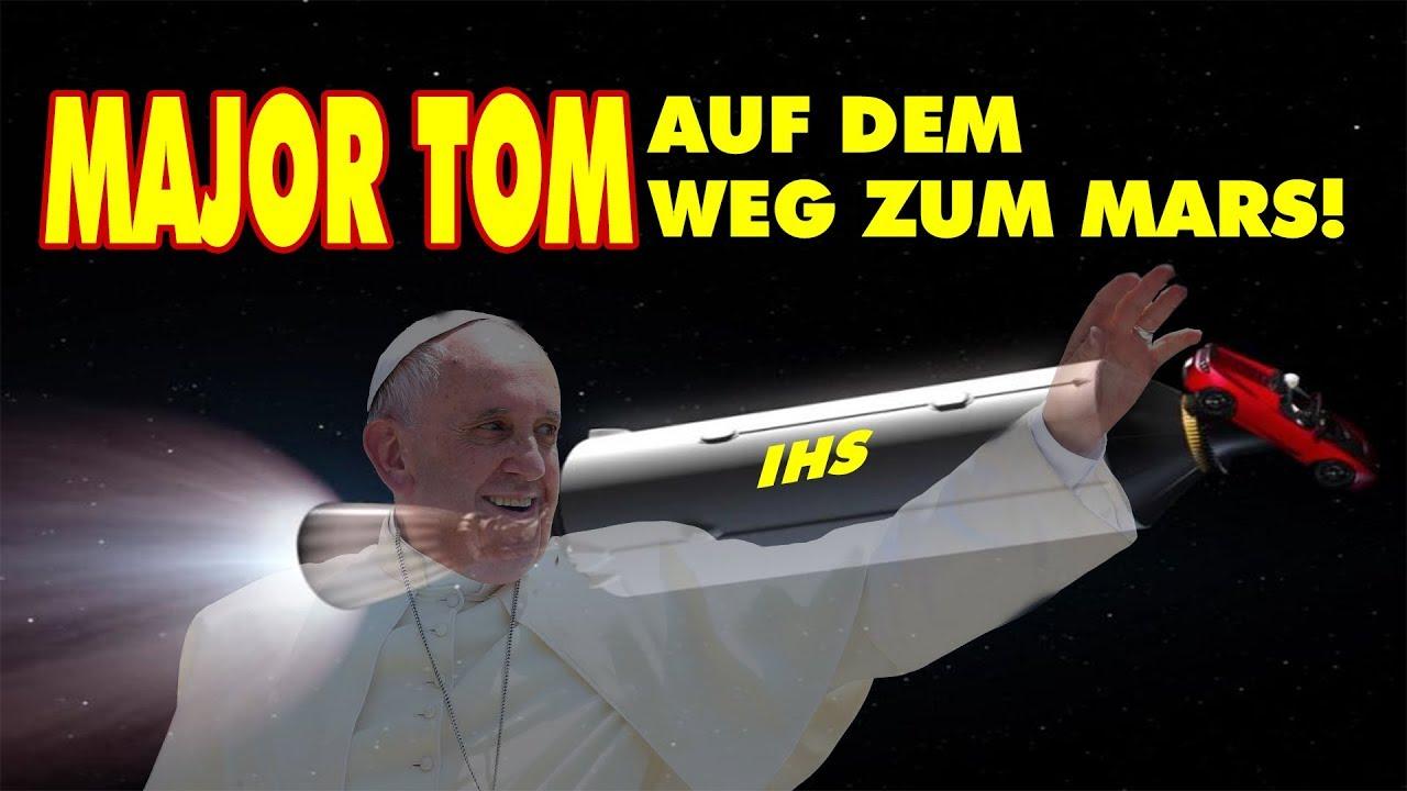 Major Tom auf dem Weg zum Mars!