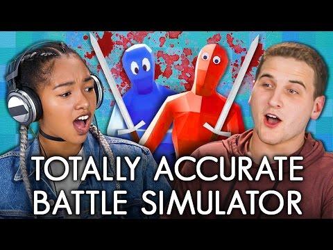 Totally accurate battle simulator