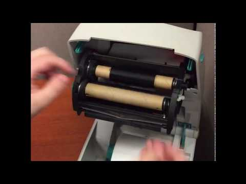 installing-the-ribbon-on-a-zebra-printer