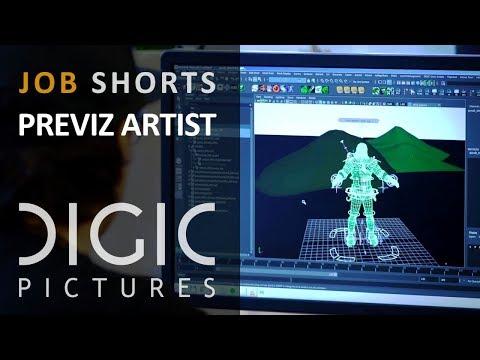 DIGIC Job Shorts - Previz Artist