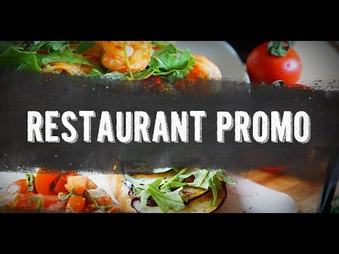 Restaurant Promo ☆ After Effects Template ☆ AE Templates - YouTube