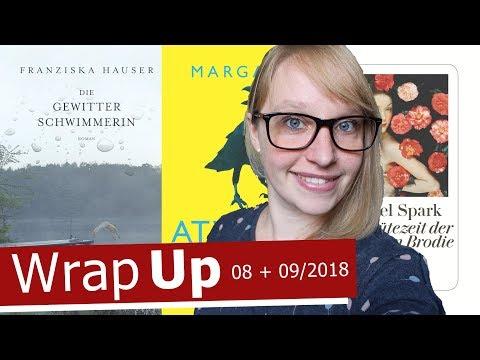 LESEMONAT | Gelesene Bücher im AUGUST und SEPTEMBER 2018 | TheFallingAlice