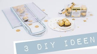 Tasche nähen, goldene DIY Ideen + VERLOSUNG #RocherChallenge