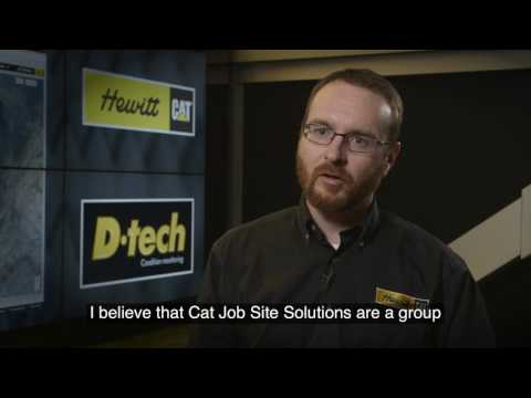 Caterpillar® Job Site Solutions | Cat Dealer David Hewitt Explains Advantages of Cat JSS