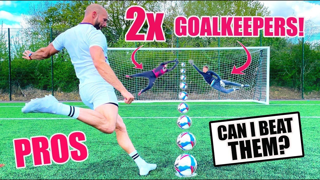 Is it Possible To Score Against 2 Goalkeepers...AT THE SAME TIME!