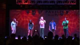 Pentatonix - We Are Young (Live @ Levitt Pavilion Arlington, TX 9-2-12)
