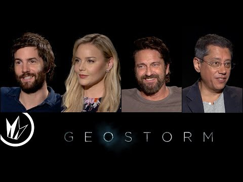 Geostorm: Sit Down With the Stars feat. Matthew Hoffman – Regal Cinemas [HD]