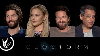 Geostorm: Sit Down With the Stars feat. Matthew Hoffman – Regal Cinemas [HD]