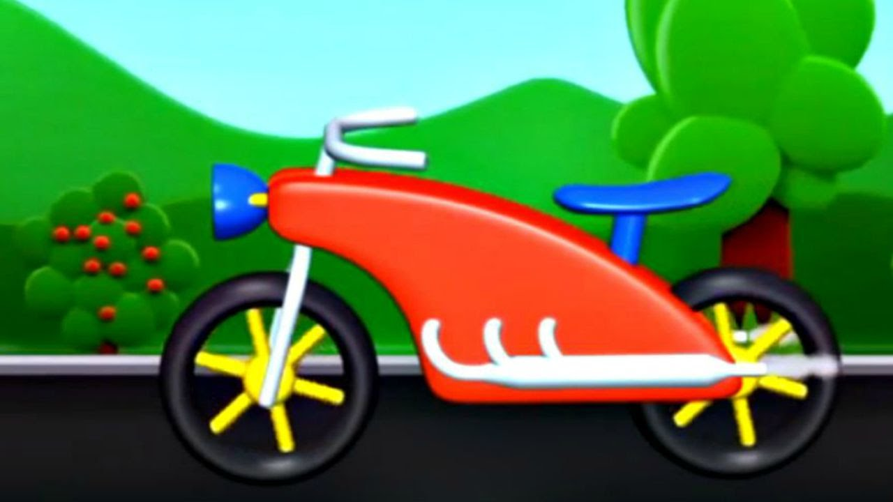 ma petite moto jeu d 39 assemblage dessin anim youtube. Black Bedroom Furniture Sets. Home Design Ideas