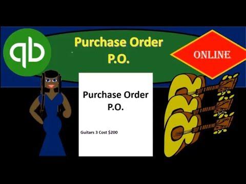 QuickBooks Online 7.10 Part 1 Purchase Order 2018