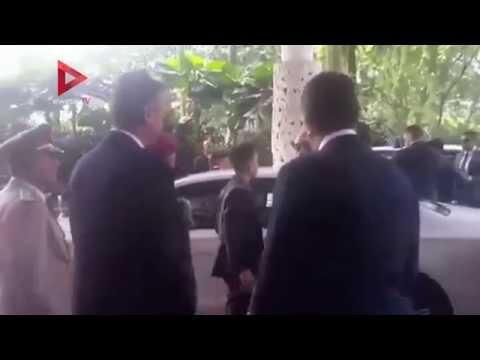 الوطن المصرية: لحظة وصول السيسي السفارة المصرية في سنغافورة