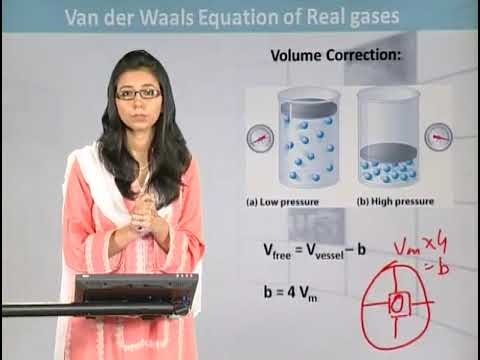 what is van der waals equation of real gases youtube. Black Bedroom Furniture Sets. Home Design Ideas